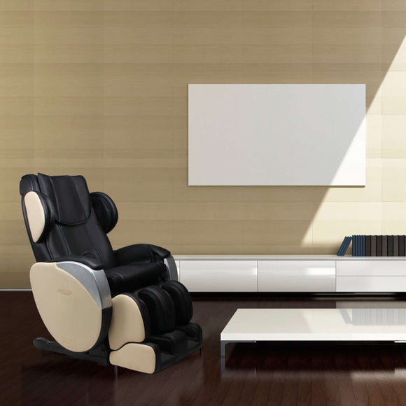Planet Sauna:Dynamic Massage Chair Santa Monica,Black/Ivory 2 tone,Massage Chair,Dynamic Massage Chairs