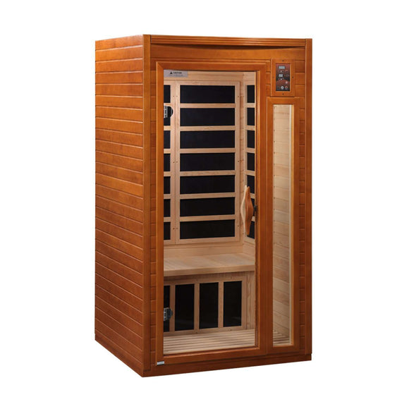 Planet Sauna:Dynamic Saunas 1-2 Person Low EMF Far Infrared Sauna, Barcelona Edition,Sauna,Dynamic Saunas