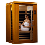 Planet Sauna:Dynamic Saunas 2 Person Low EMF Far Infrared Sauna, Venice II Edition,Sauna,Dynamic Saunas