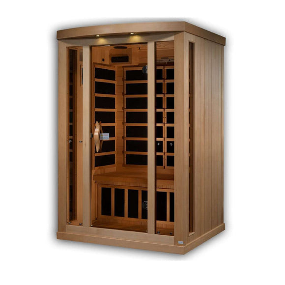 Helene 2 Person Near Zero EMF Far Infrared Sauna (Full Spectrum Option Available) (DISCONTINUED), [variant_title], Sauna, [shop_name]