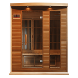 Planet Sauna:Maxxus Saunas 3 Person Low EMF FAR Infrared Sauna,Sauna,Maxxus Saunas