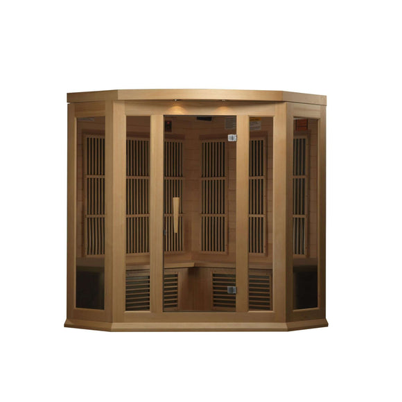 Ferdinand 3 Person Corner Low EMF FAR Infrared Sauna, [variant_title], Sauna, [shop_name]