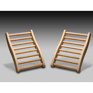 Planet Sauna:Planet Sauna S-Shaped Backrests,Sauna Accesories,Planet Sauna