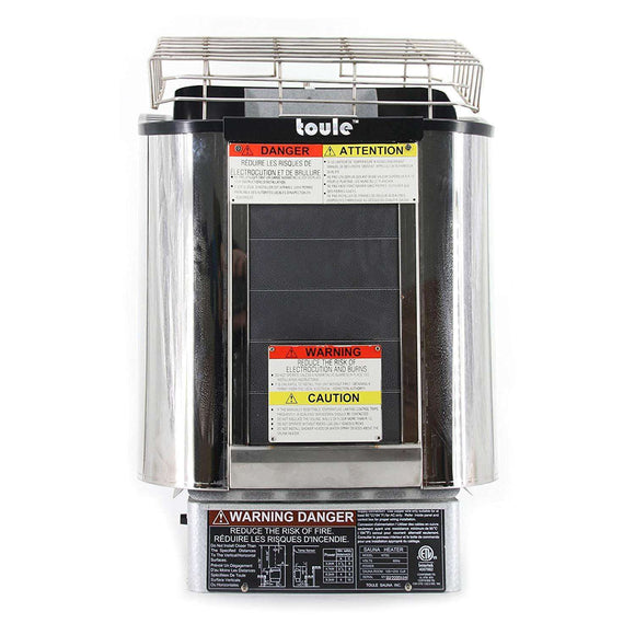 Planet Sauna:TOULE ETL Certified Wet/Dry 3KW Sauna Heater Stove And Wall Digital Controller,Sauna Heaters,Aleko
