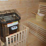 Planet Sauna:TOULE ETL Certified Wet/Dry 3KW Sauna Heater Stove with Built-in Digital Controller,Sauna Heaters,Aleko