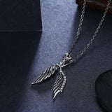 Guardian Angel Sterling Silver Necklace