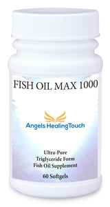 Angels Healing Touch Fish Oil Max 1000 Ultra-pure, once-daily essential fatty acid
