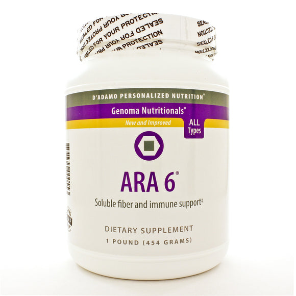 D'Adamo Personalized Nutrition ARA 6 (Larch Arabinogalactan powder