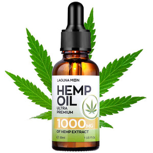 Organic Essential Oil Hemp Oil Hemp Seed 5000Mg Bio-active Oil Hair Growth Massage Pain Relief Anxiety Reduce 30ML