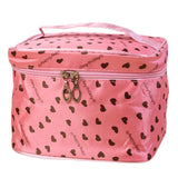 Women Makeup Case Leopard Print PU Leather Women Travel Cosmetic Bag para mujer #XTJ