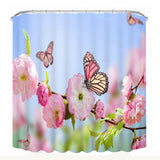 3D Printing Waterproof Personality Fabric  Bathroom Shower Curtain