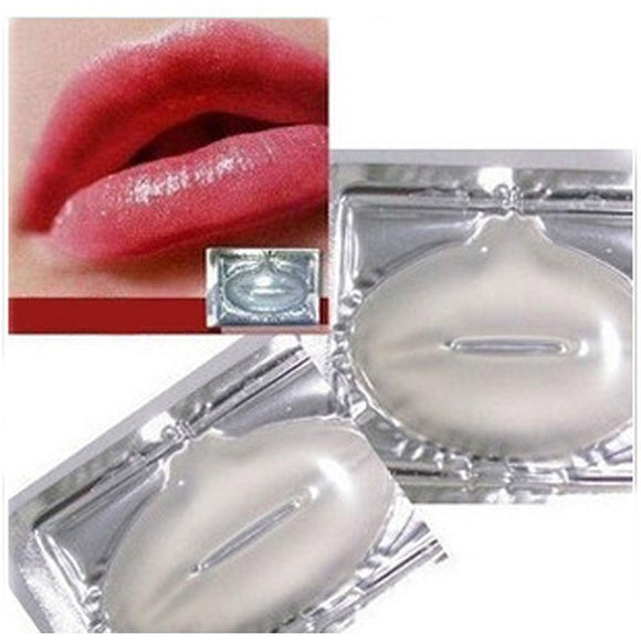 3 Pcs Collagen Crystal Lip Mask Membrane Moisture New Wholesale Treatment  Mask Lip Care Lip Masks fro Face Care