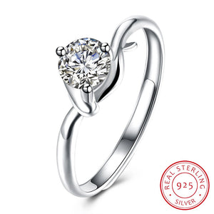 925 Sterling Silver Ring Fashion ring exquisite sterling silver jewelry wholesale sh - r 0093