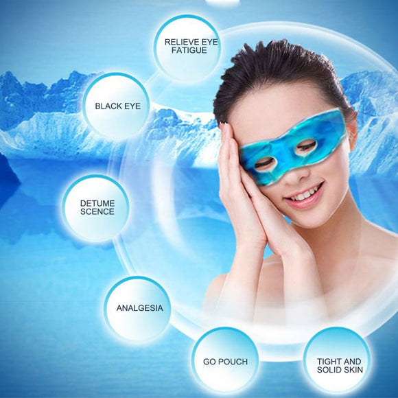 Multifunctional Ice Eyeshade Sleeping Eye Mask Reduce Dark Circles Relieve Fatigue Lessen Eyestrain Eye Cover Eye Masks Gel
