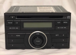 2013 12 13 14 NISSAN VERSA RADIO STEREO AM-FM CD DISC PN-3089A
