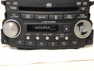 04 05 06 ACURA TL RADIO CD CASSETTE OEM #39100-SEP-A000