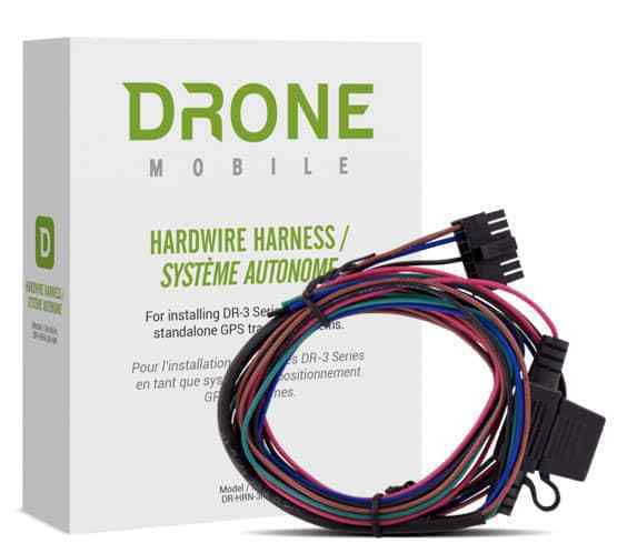 DR-3 Hardwire Harness