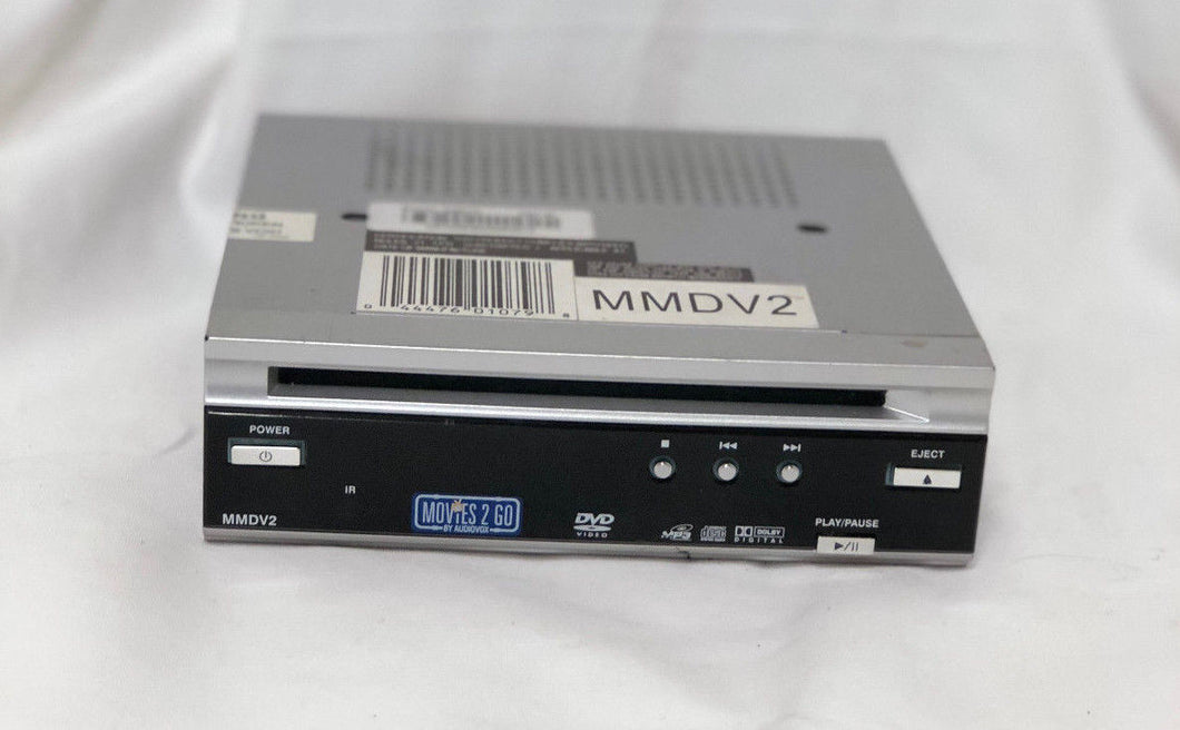 Audiovox MMDV2 Movies 2 Go MP3 CD DVD Mobile Video Player