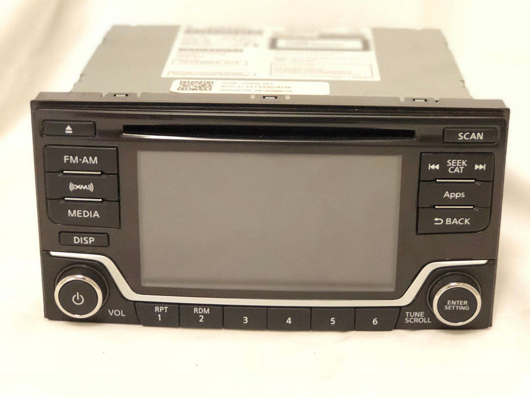 Froniter Nissan Radio Control Unit Without Rockford audio with display 281859BK1A