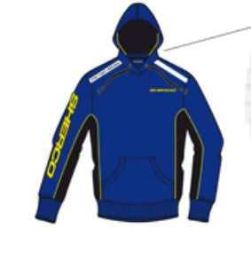 Sherco Hoody Ladies L - V346.16 - S-54