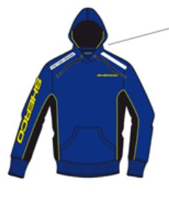Sherco Hoody Ladies M - V345.16 - S54