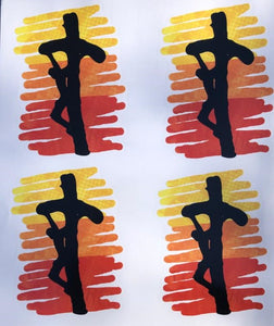 Mission Youth Vinyl Sticker Sheet / Four Stickers Per Sheet