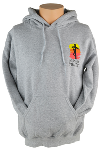 Mission Youth Hooded Sweatshirt