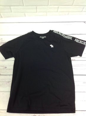 Abercrombie & Fitch Black Print Logo Top