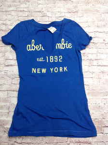 Abercrombie & Fitch Blue Top