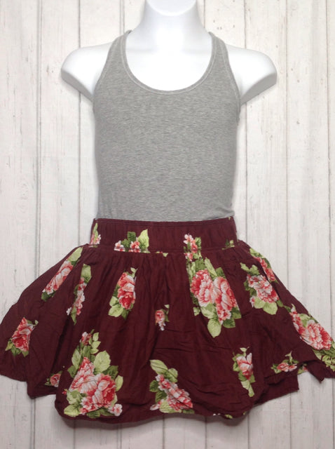 Abercrombie & Fitch GRAY & MAROON Dress