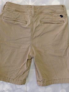 Abercrombie & Fitch Tan Solid Shorts