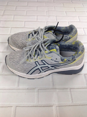 Asics Gray & Yellow Sneakers