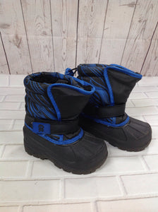 Athletech Black & Blue IB Footwear Snowboots