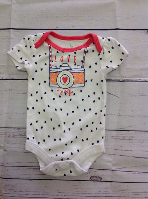 BABY STARTERS WHITE & BLUE Top