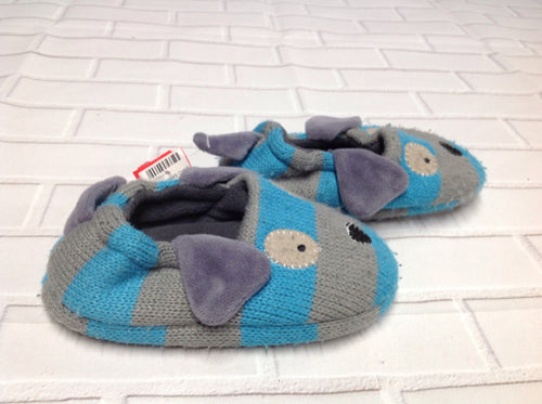 BLUE & GRAY Slippers