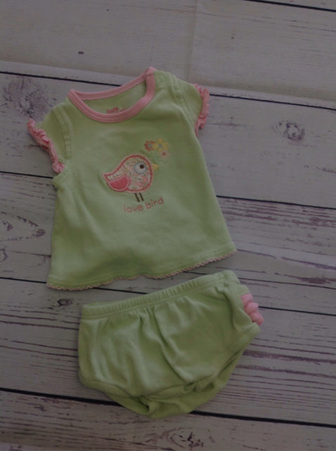 Baby B'Gosh Green 2 PC Outfit