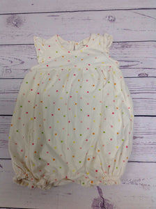 Baby Gap CREAM PRINT One Piece
