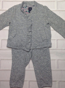Baby Gap GRAY & WHITE 2 PC Outfit