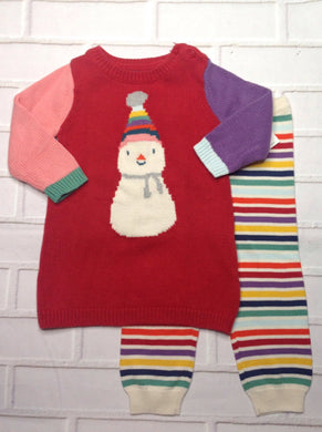 Baby Gap Red & Purple 2 PC Outfit
