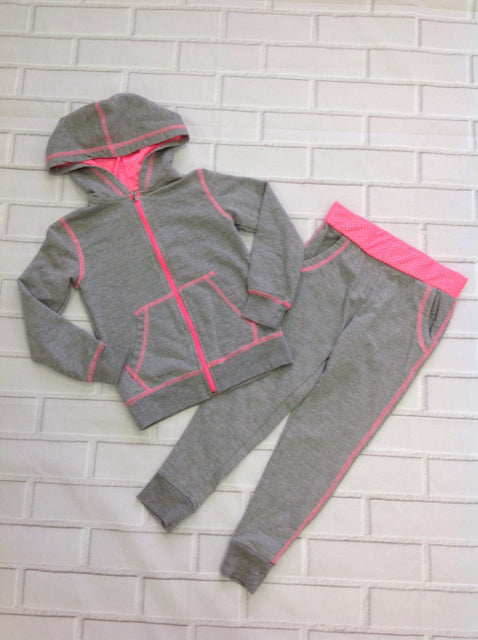 Bobbie Brooks Gray & Pink 2 pc Set