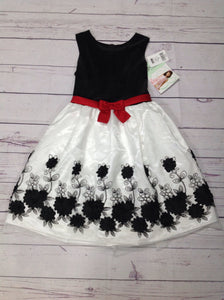 Bonnie Jean Black & White Dress