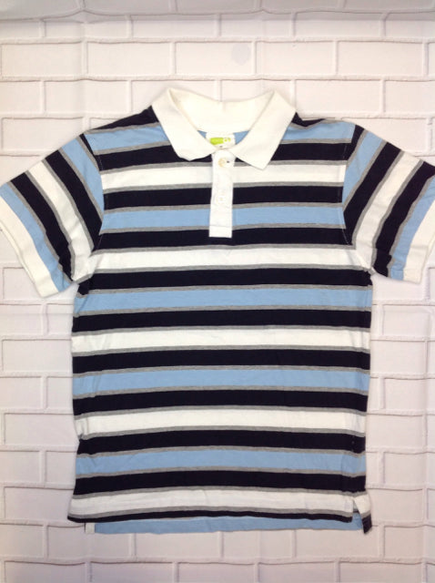 CRAZY 8 Blue Print Stripe Top