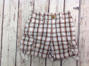 CRAZY 8 TAN PRINT Shorts