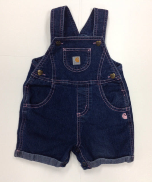 Carhartt Blue Shortalls