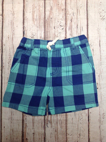 Carters Aqua & Blue Shorts