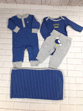 Carters BLUE & GRAY 4 PC Outfit