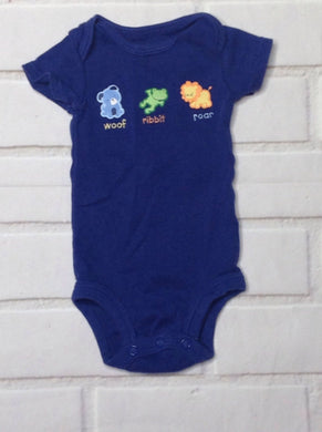 Carters BLUE & ORANGE Onesie