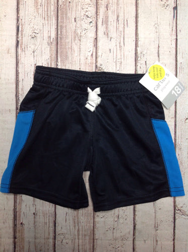 Carters Black & Blue Shorts