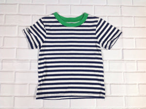 Carters Blue & White Stripe Top