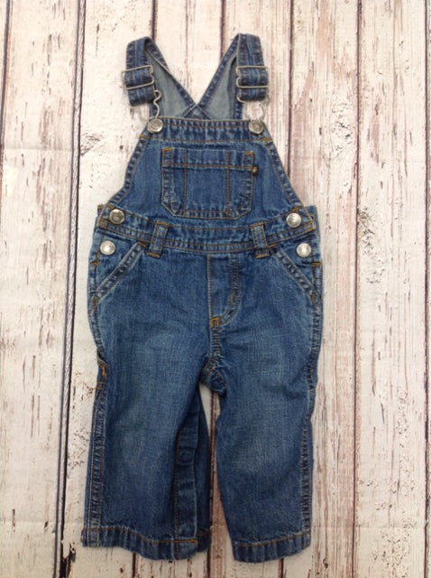 Carters Blue Denim Overalls